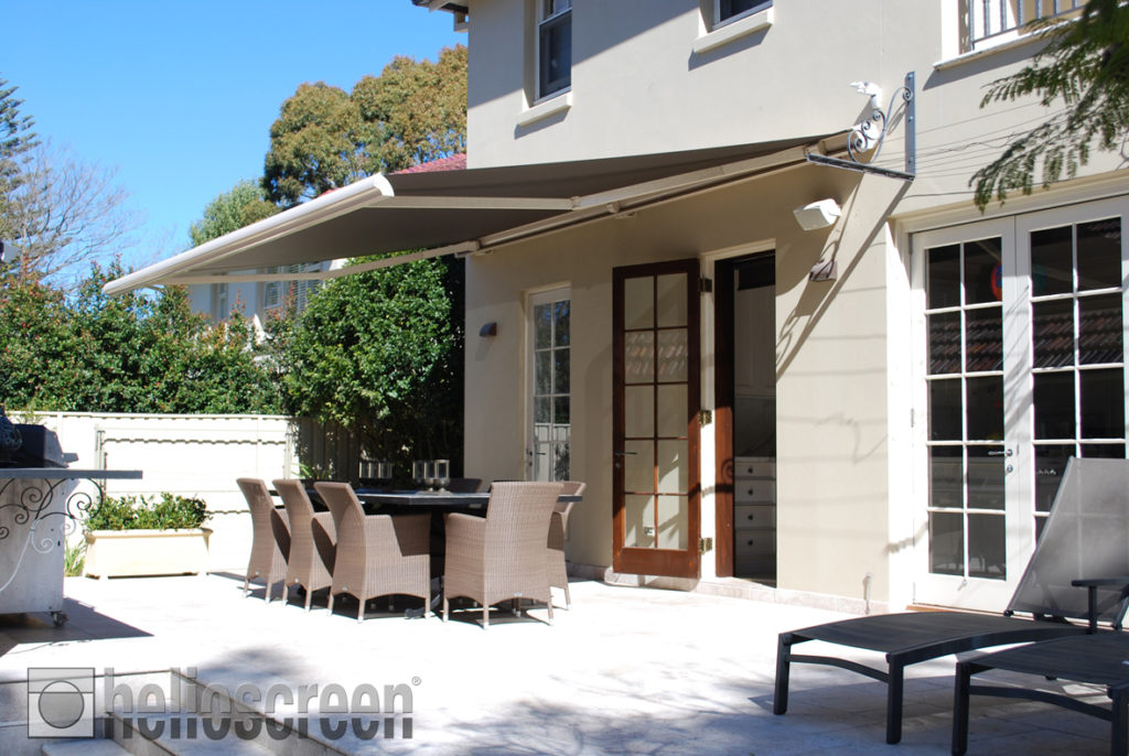 Folding Arm Awnings Kings Outdoor Living